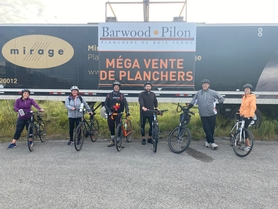 Barwood Pilon Team cycle for a foundation