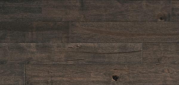 Aged Maple Black Jelly Bean Hardwood Floor Barwood Pilon