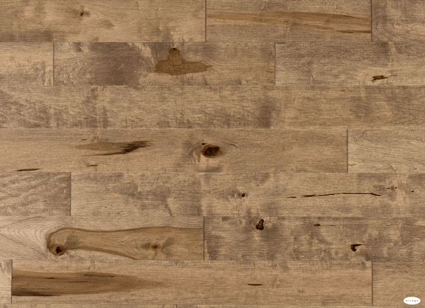 Aged Maple Nougat Hardwood Floor Barwood Pilon