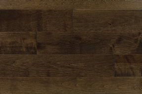 Yellow Birch Dark Walnut Hardwood Floor Barwood Pilon