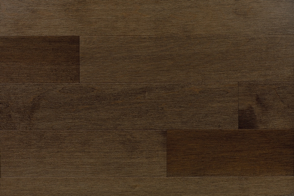 Maple Dark Walnut Hardwood Floor Barwood Pilon